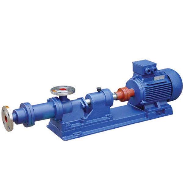 I-1B型不锈钢单螺杆浓浆泵