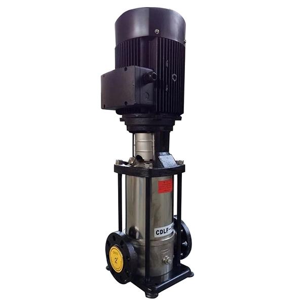 上海QDL不锈钢轻型热水多级泵