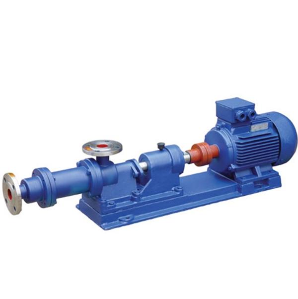 吴江I-1B型不锈钢单螺杆浓浆泵